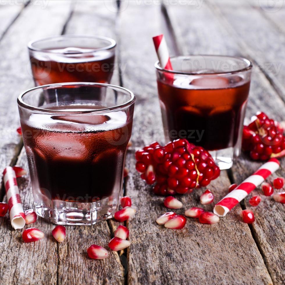 Drink pomegranate photo