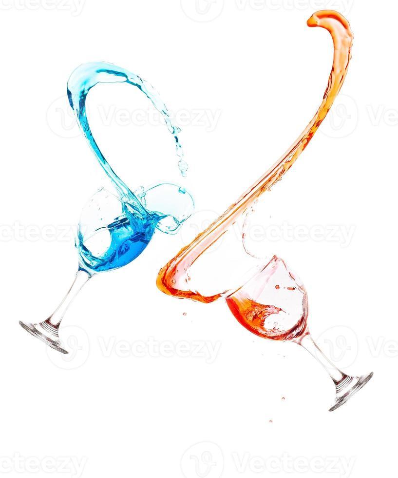 Drink splash photo