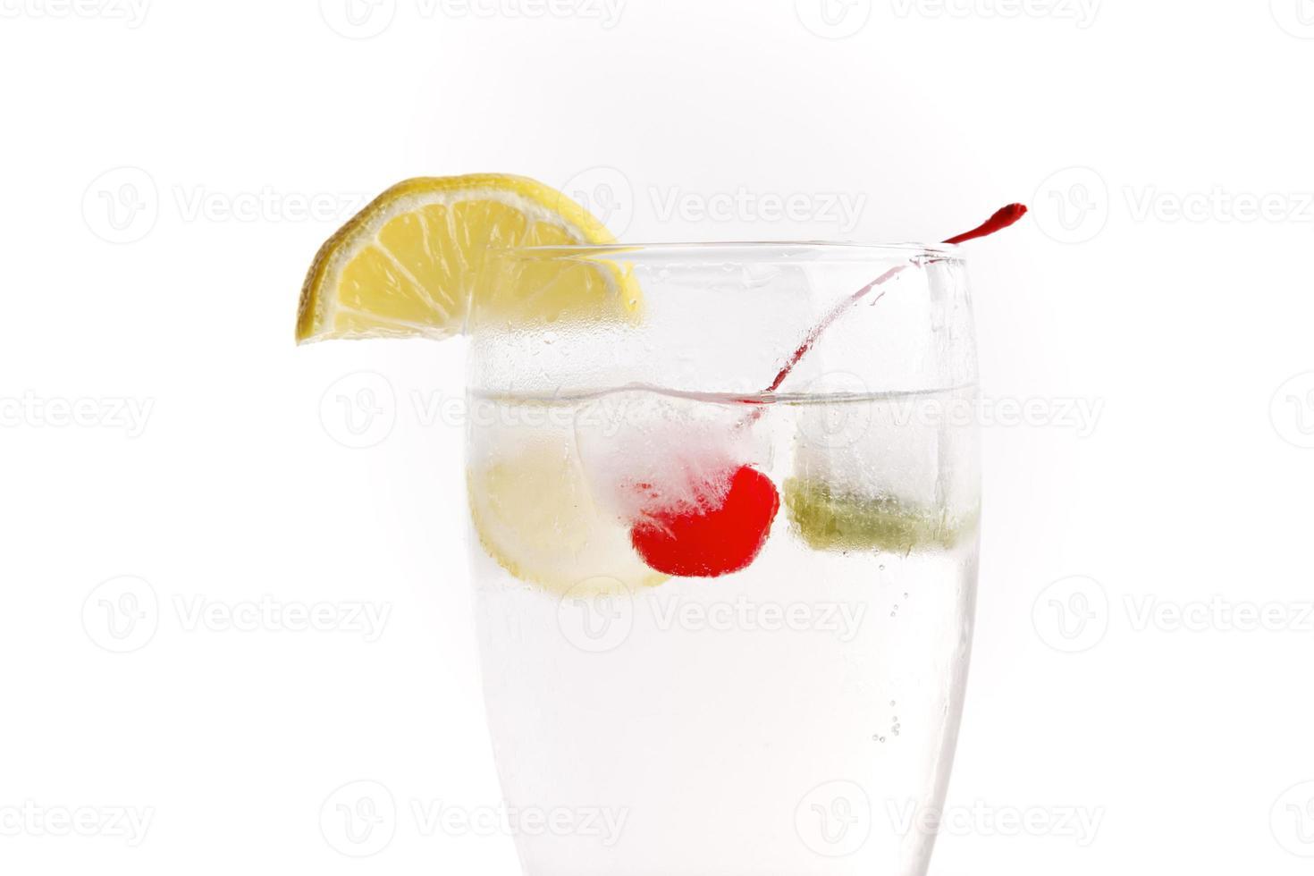 simplemente bebe con sabor a fruta foto