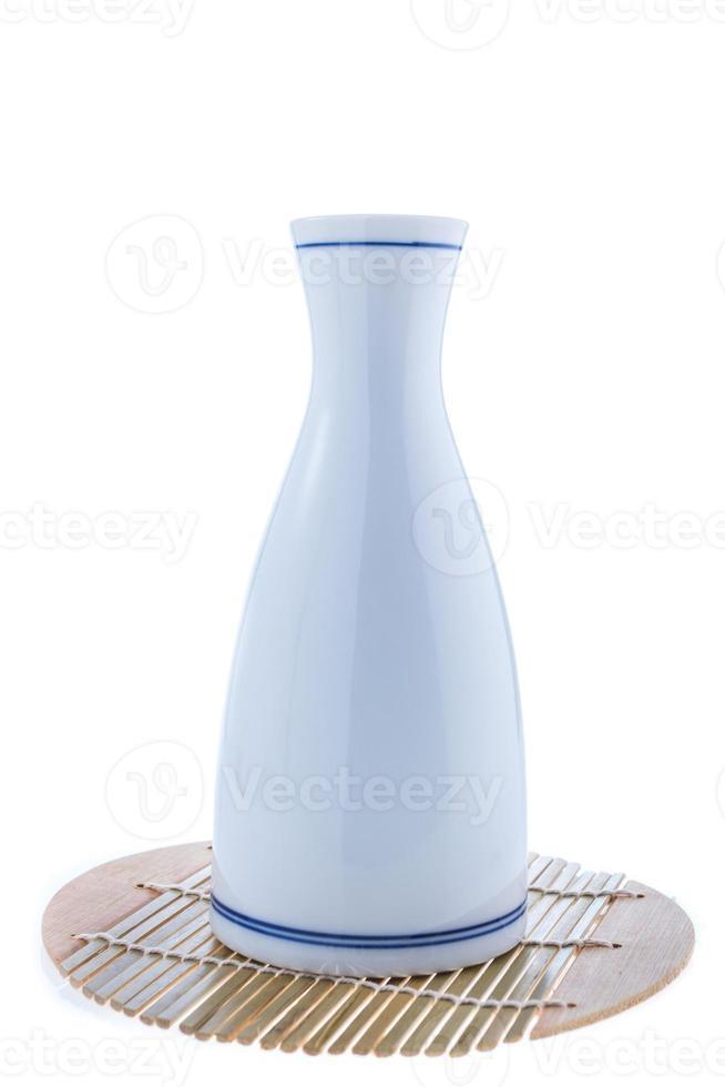 Japanese Sake drinking set photo