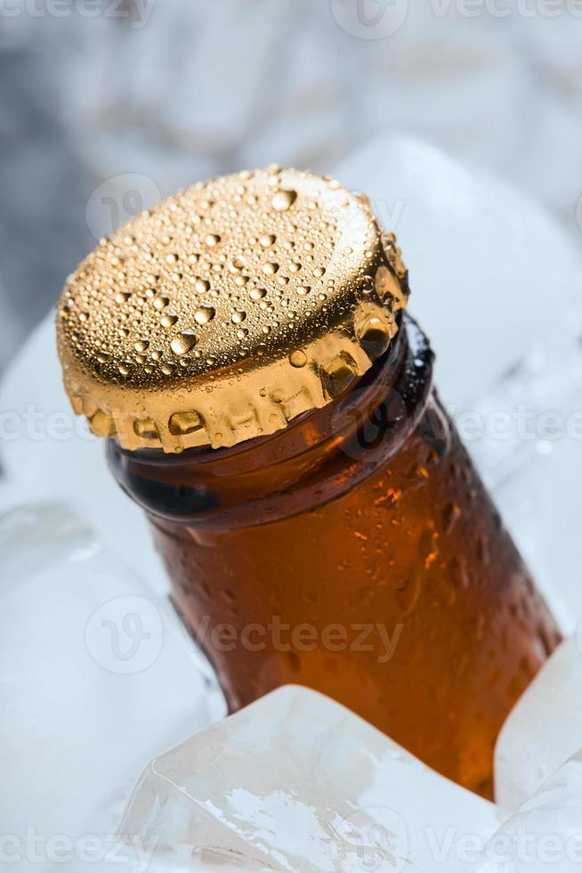 Bottle with soft drinks. photo
