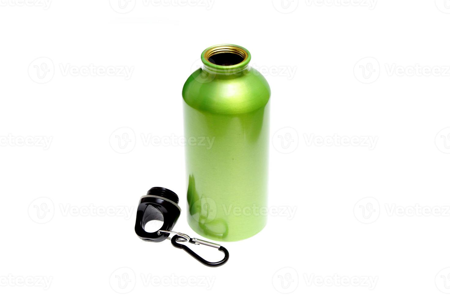 meatal drink bottle sports isolated photo