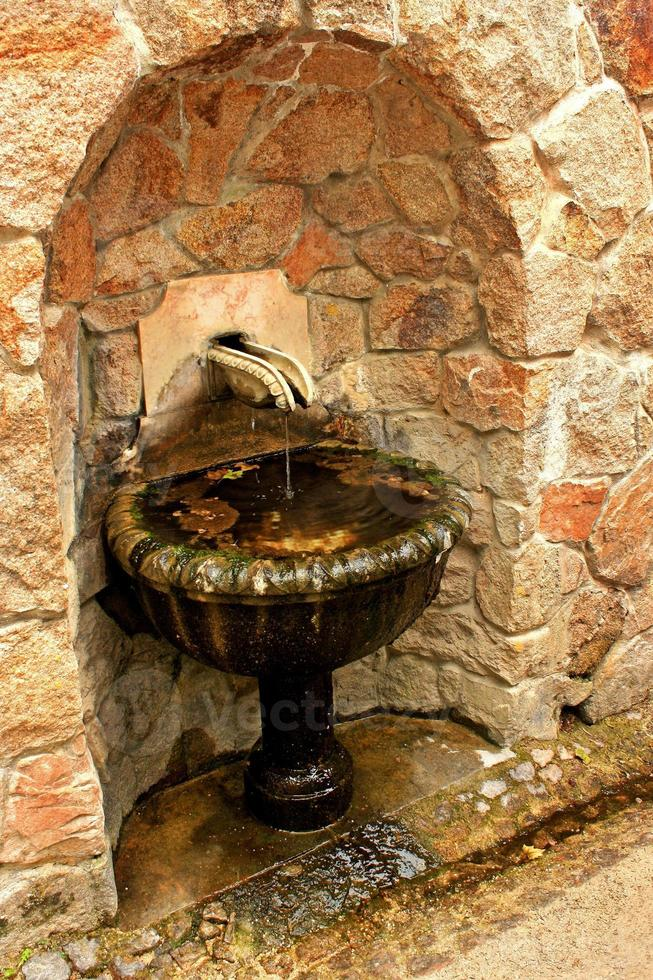 Old drinking fountain photo
