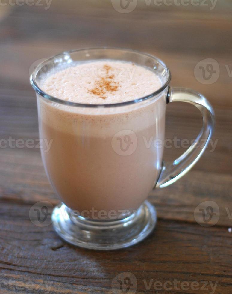 bebida vegana de cacao foto