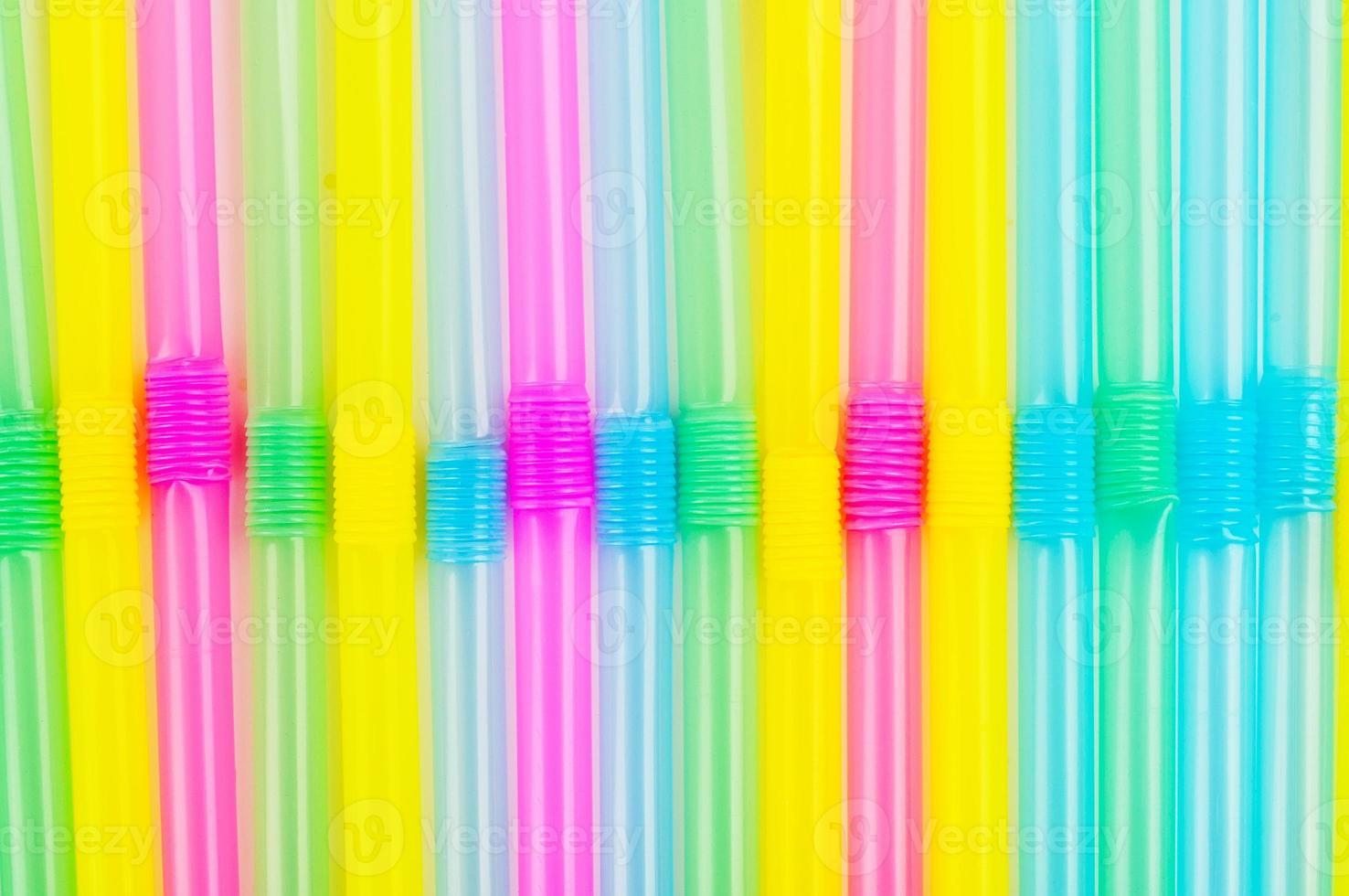 Drinking straws background photo