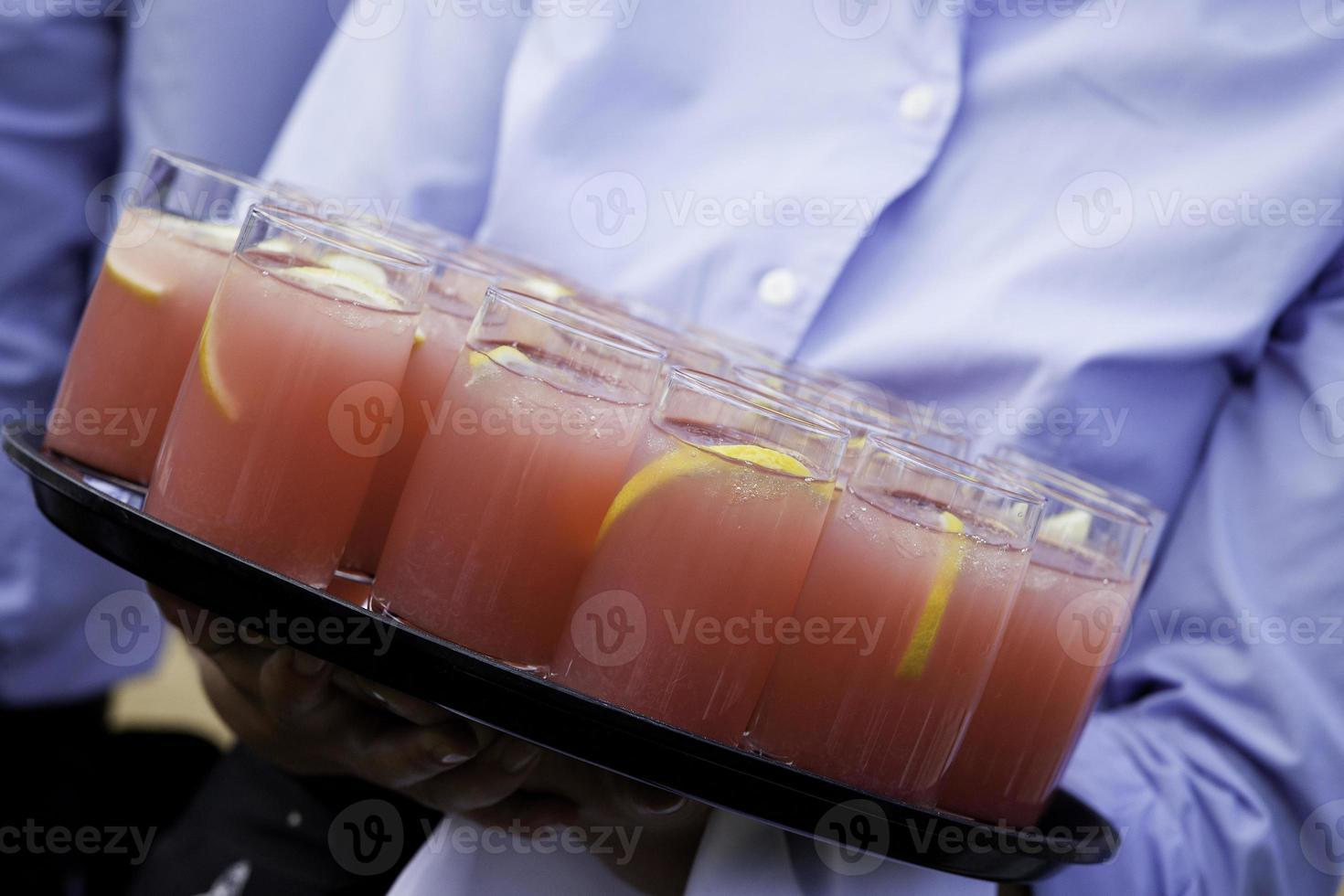 bebidas en verano foto