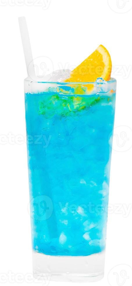 boisson hawaïenne lagon bleu photo