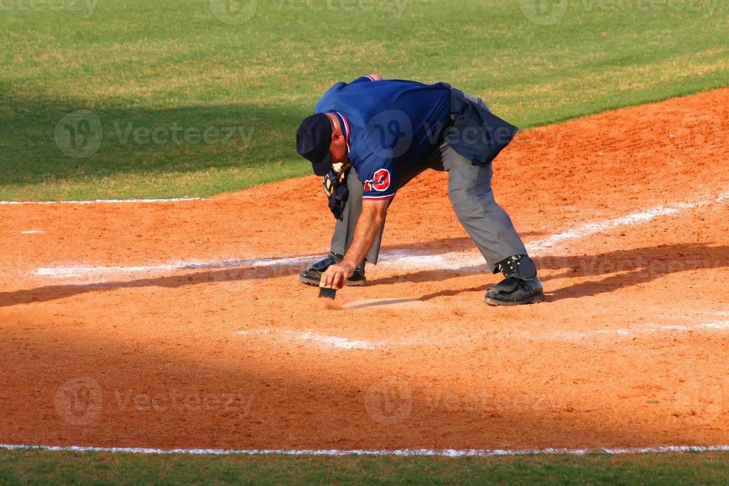 árbitro de béisbol foto
