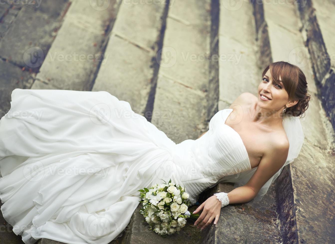 joven novia foto