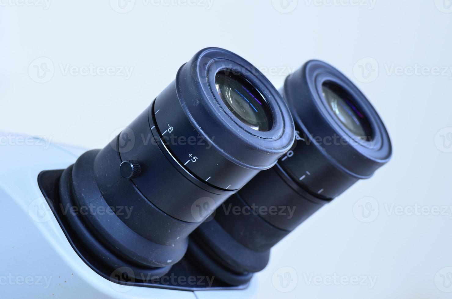 ocular de microscopio foto