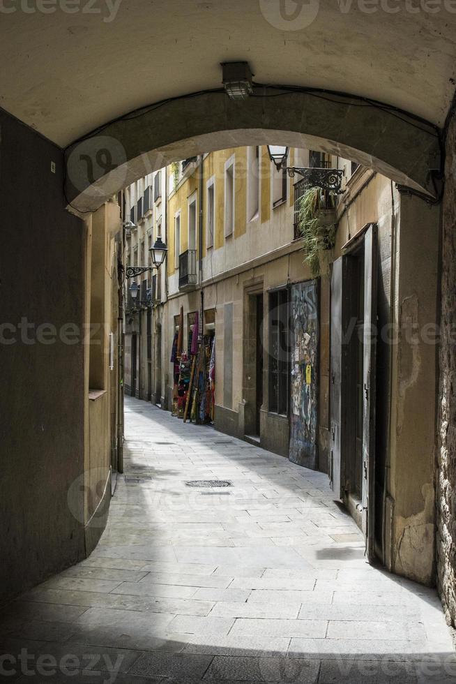 carrer arc de santa eulàlia foto