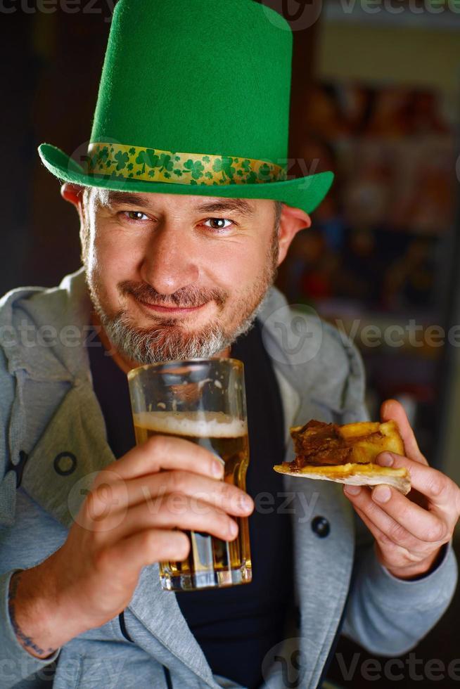 Cheerful Irishman photo