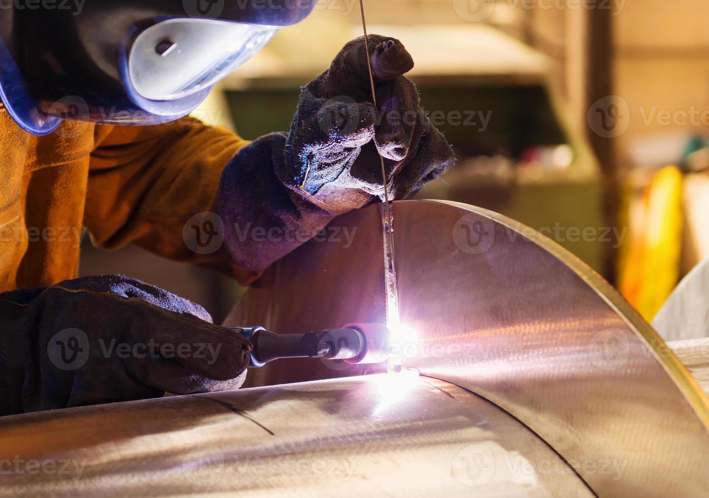 Man welding photo