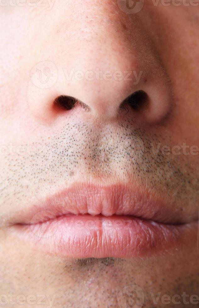 nose mouth photo