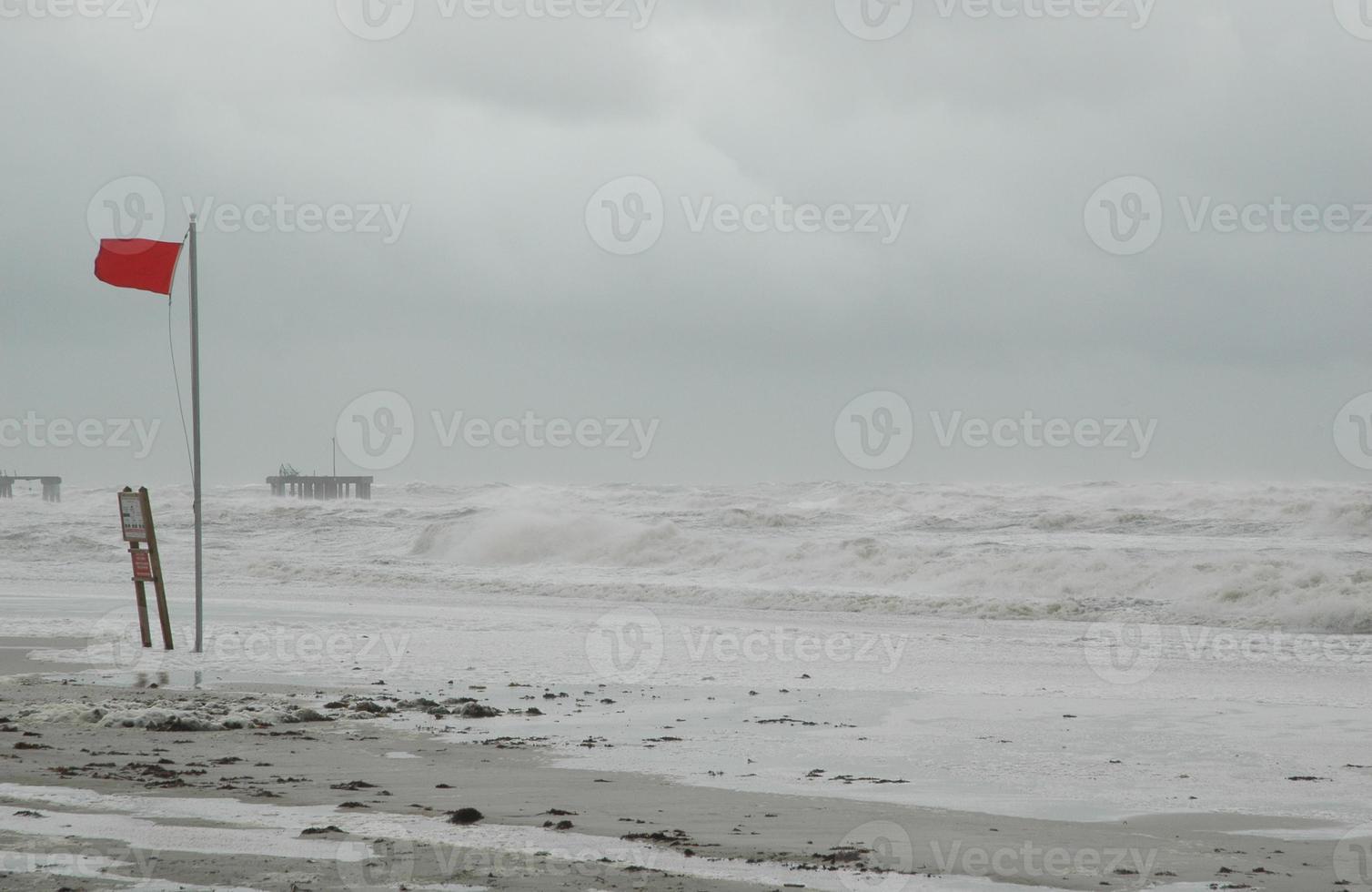 huracán con espacio de copia foto
