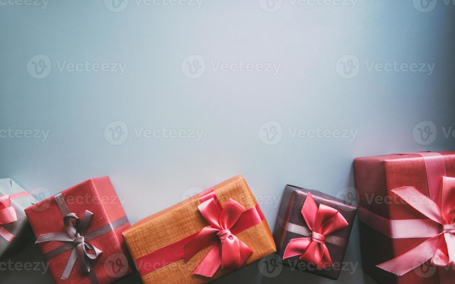 Gifts with copy space. photo