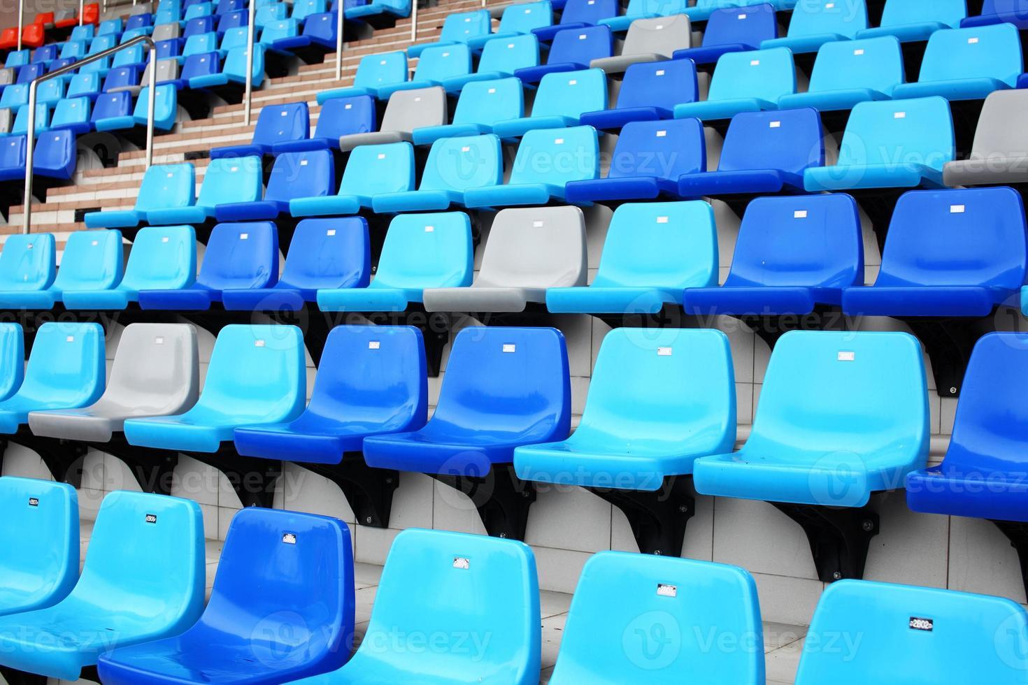 Audience seat in stadium photo