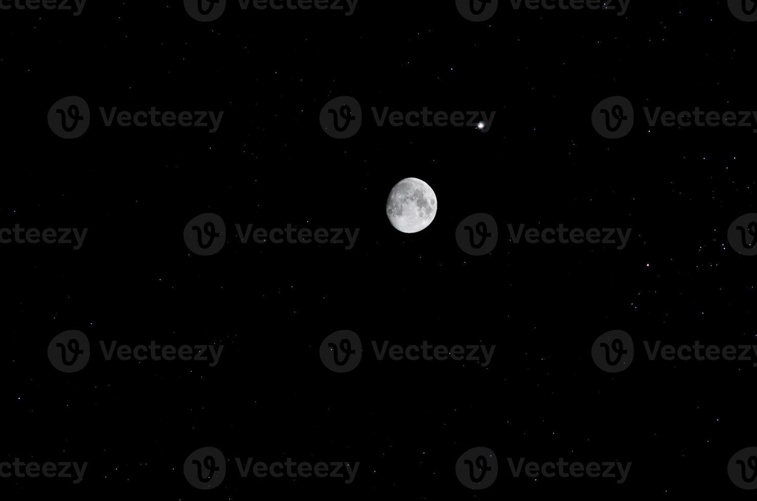 Luna y estrellas foto