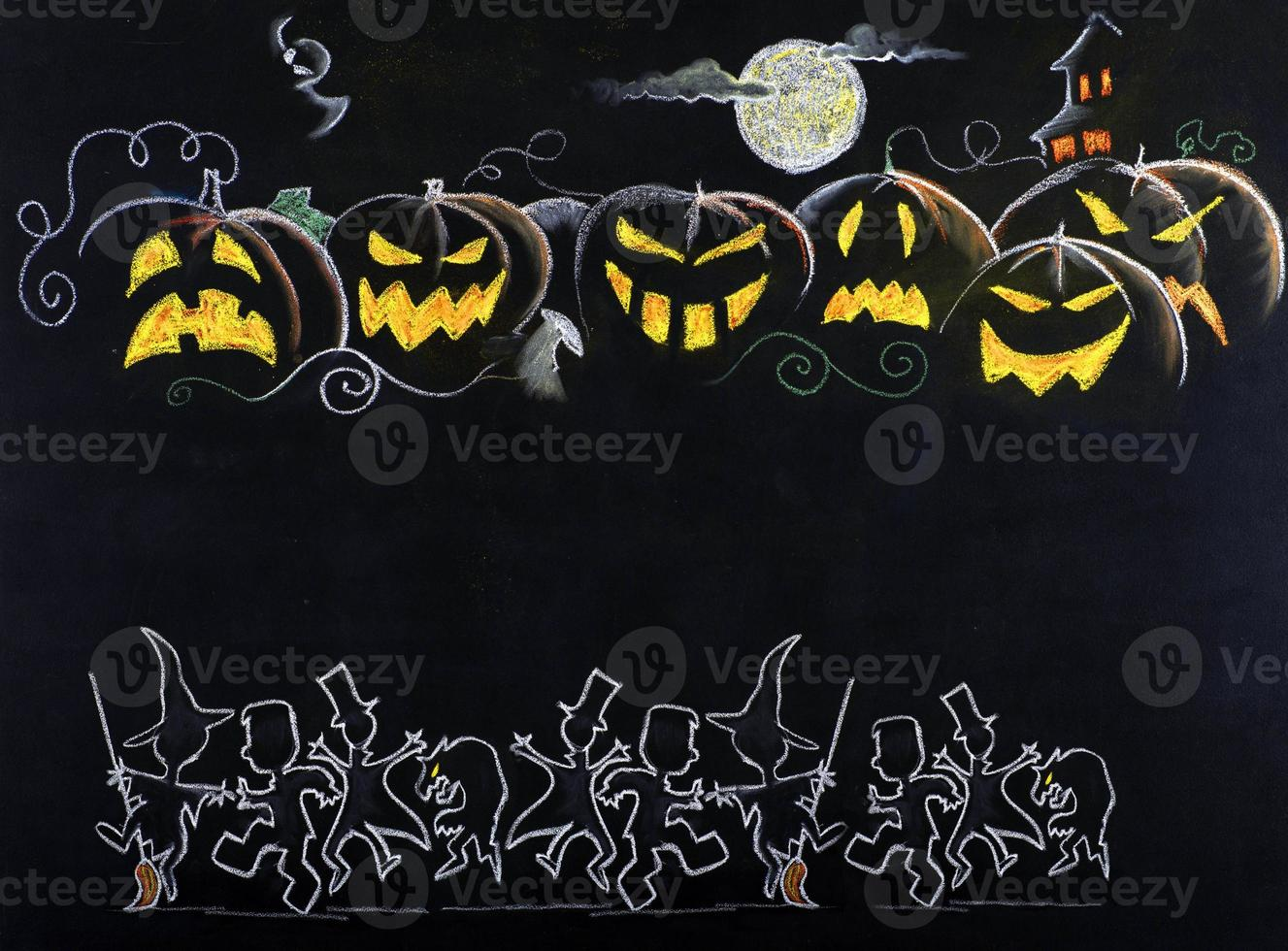 Halloween drawing photo