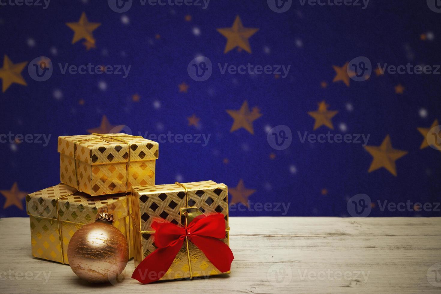 tarjeta de navidad festiva foto