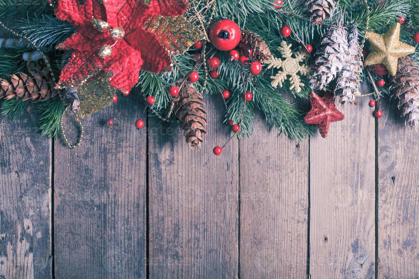 Christmas border design photo