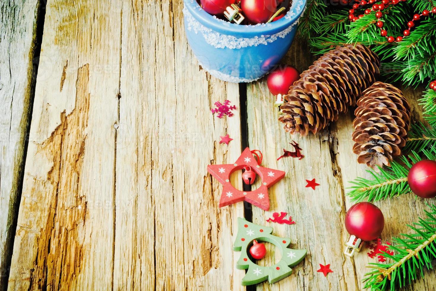 Decoraciones de navidad foto