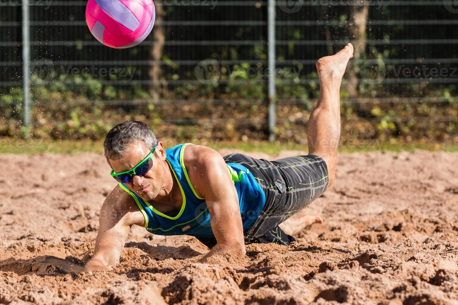 Beachvolleyball photo