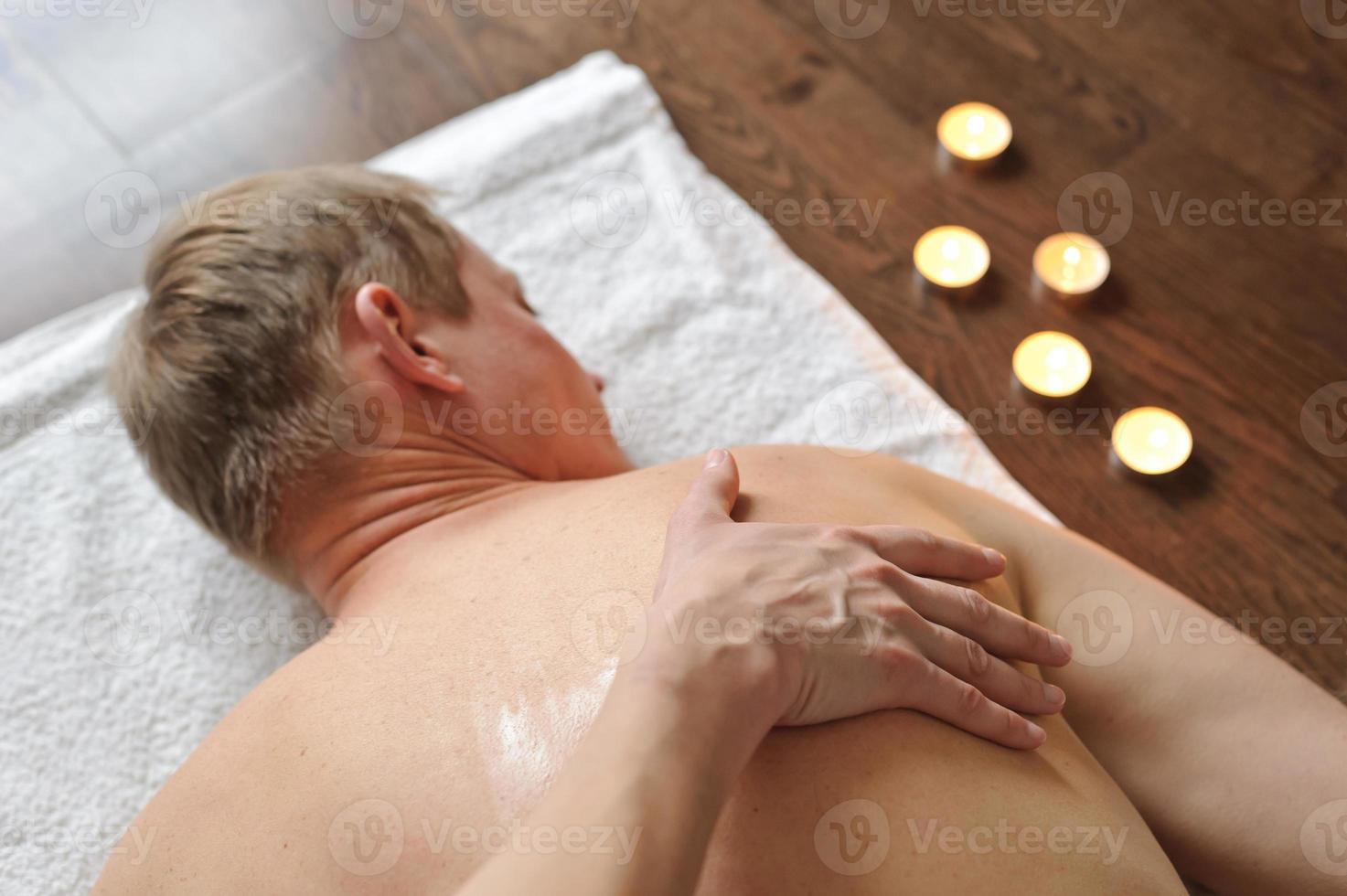 masaje de espalda foto