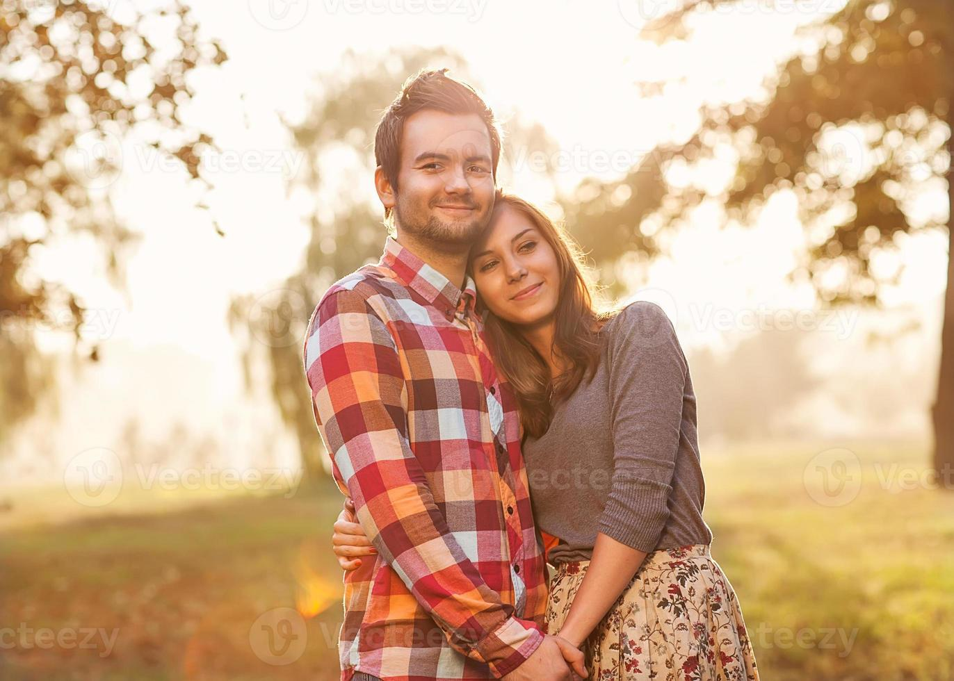Young couple in love. photo