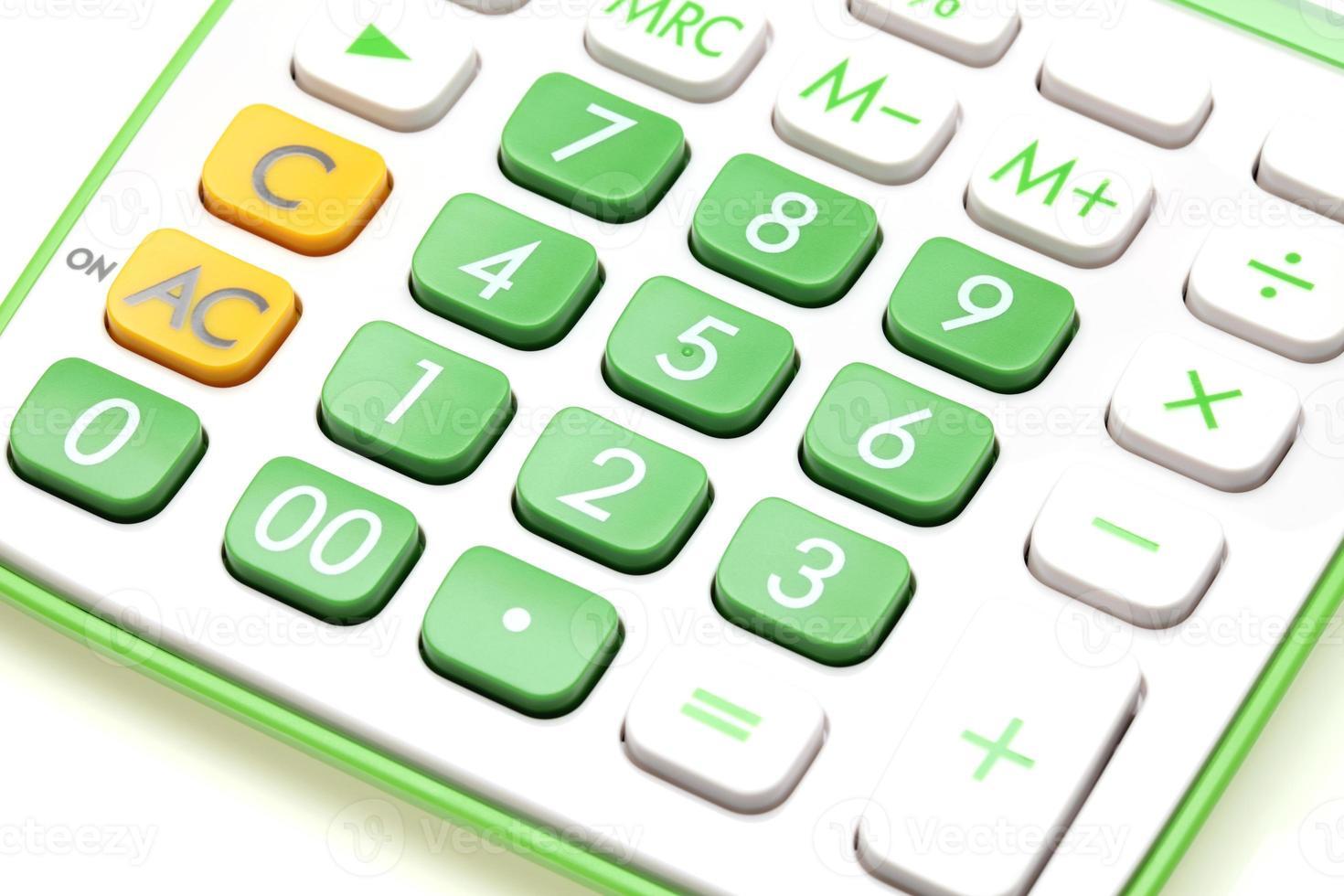 Calculator close-up photo