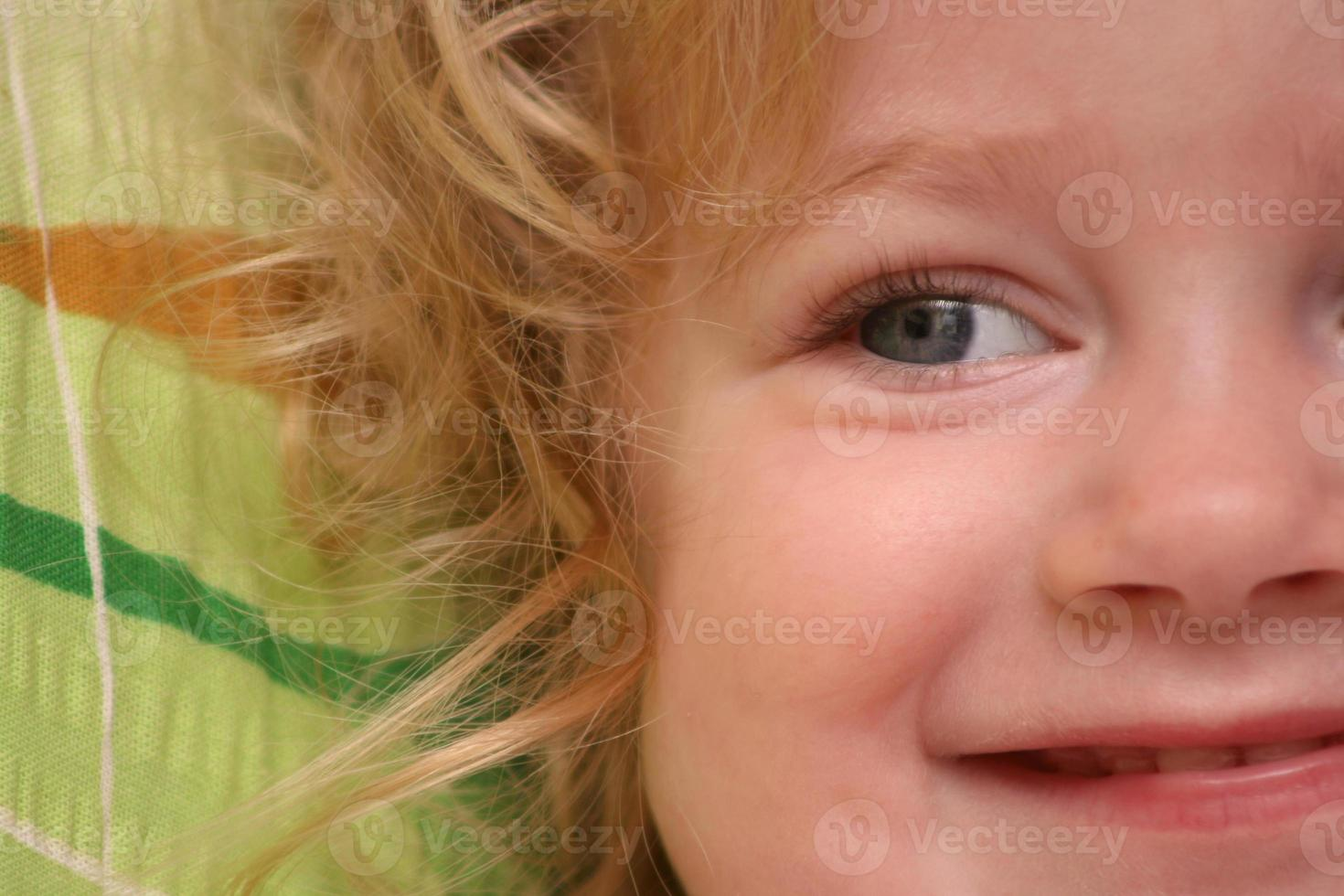 Girl close-up photo