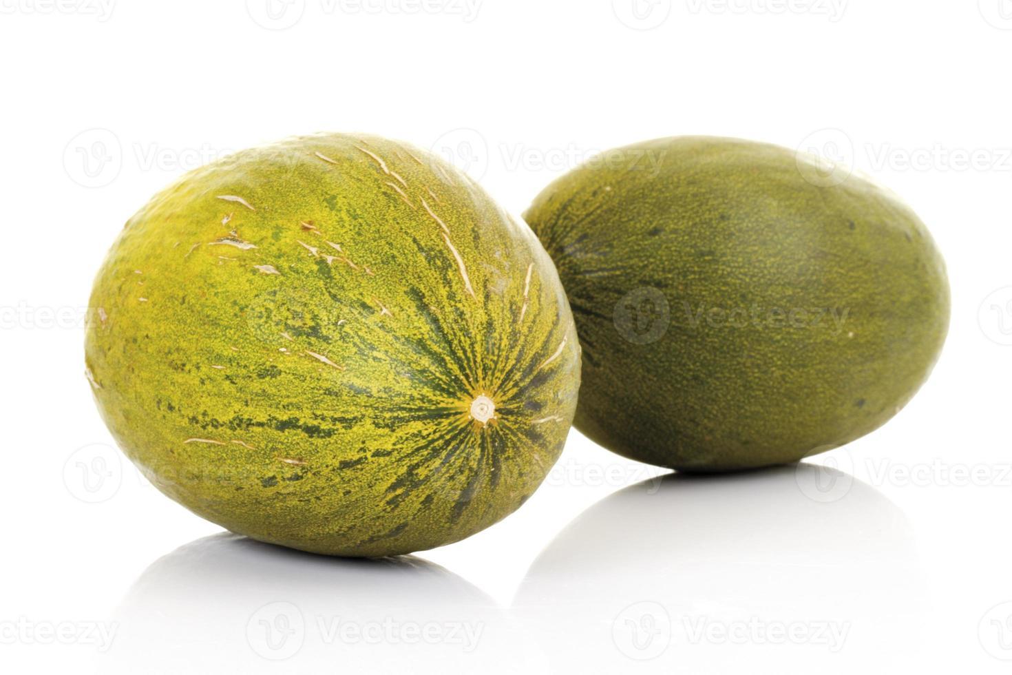futuros melones, primer plano foto