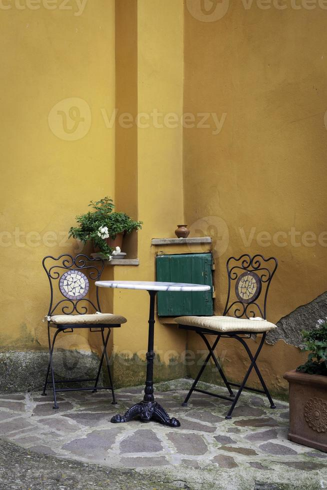 Small relaxing corner. Color image photo