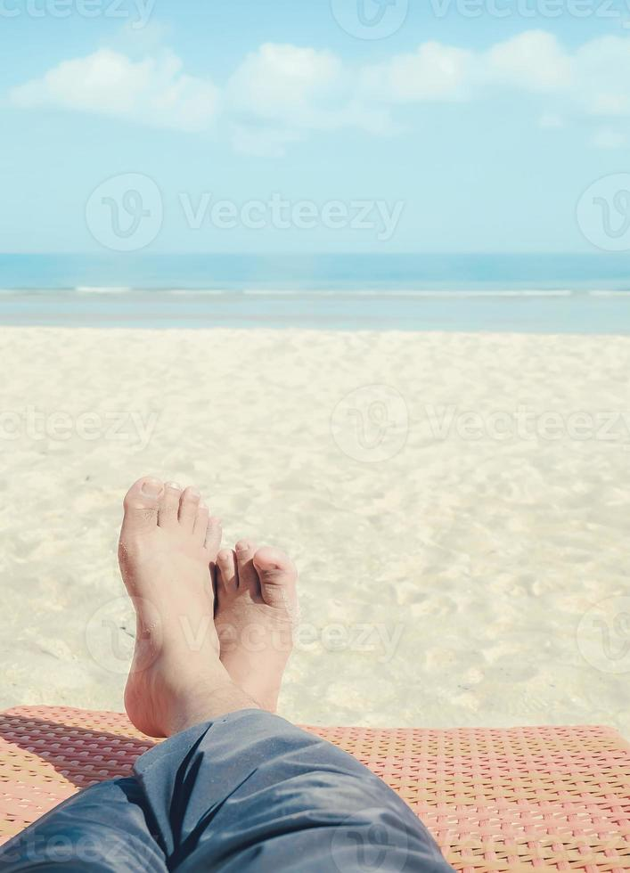 relax on the beach photo