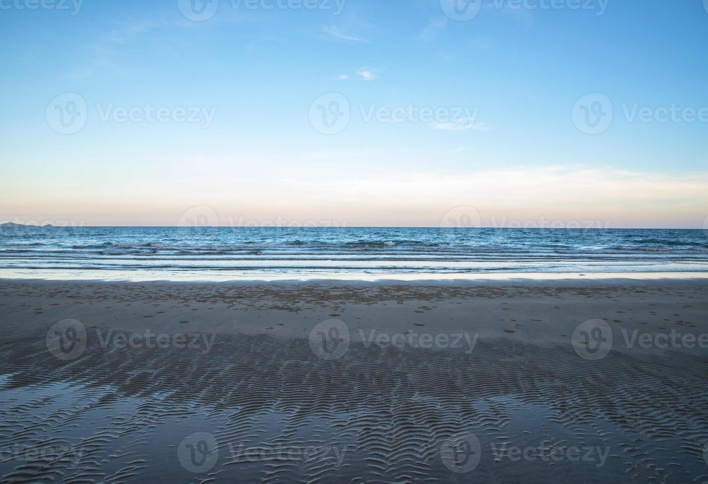 lucht en zee foto