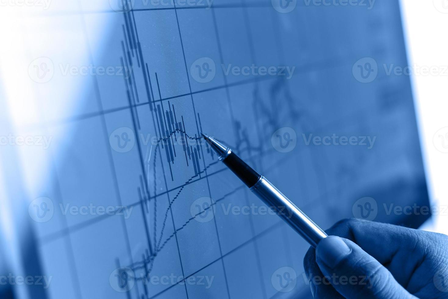 análisis de mercado foto