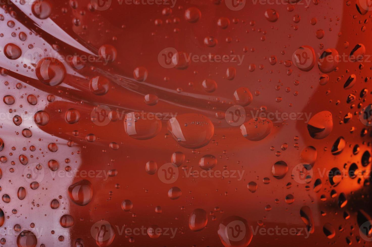 Close up of drops photo
