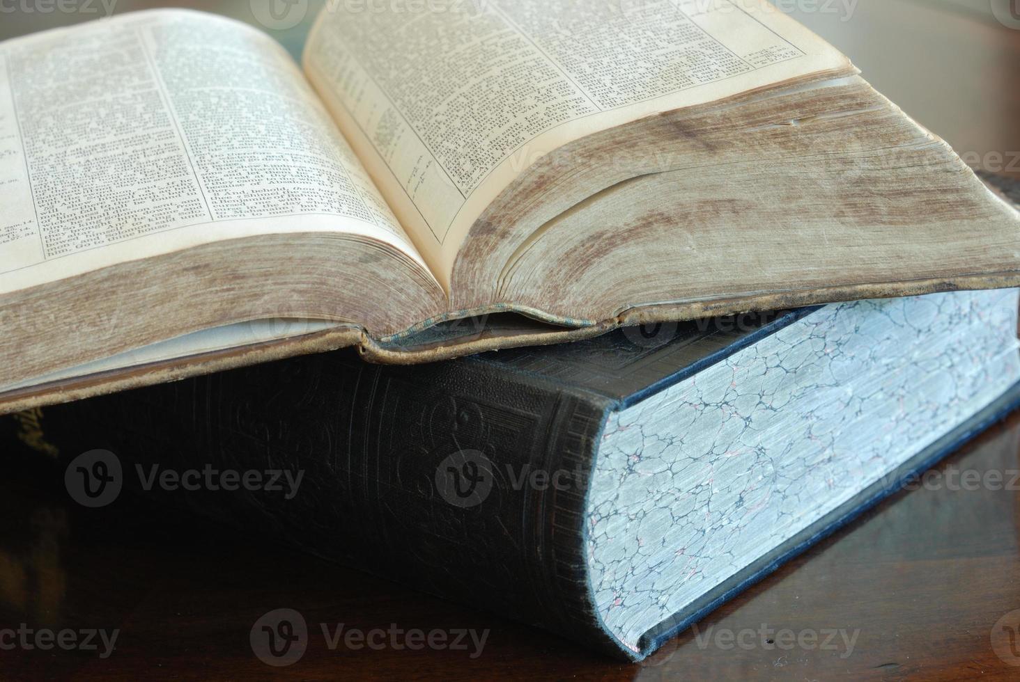 antieke boeken foto