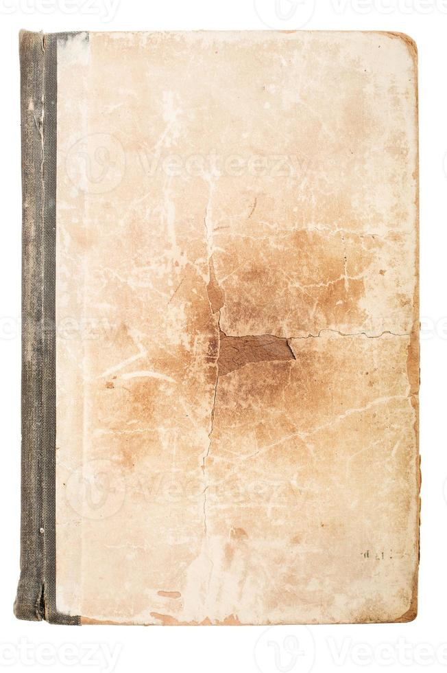 Old book page. Grunge textured background. Background for banner, poster. photo