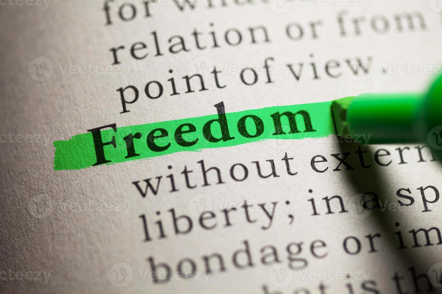vrijheid foto