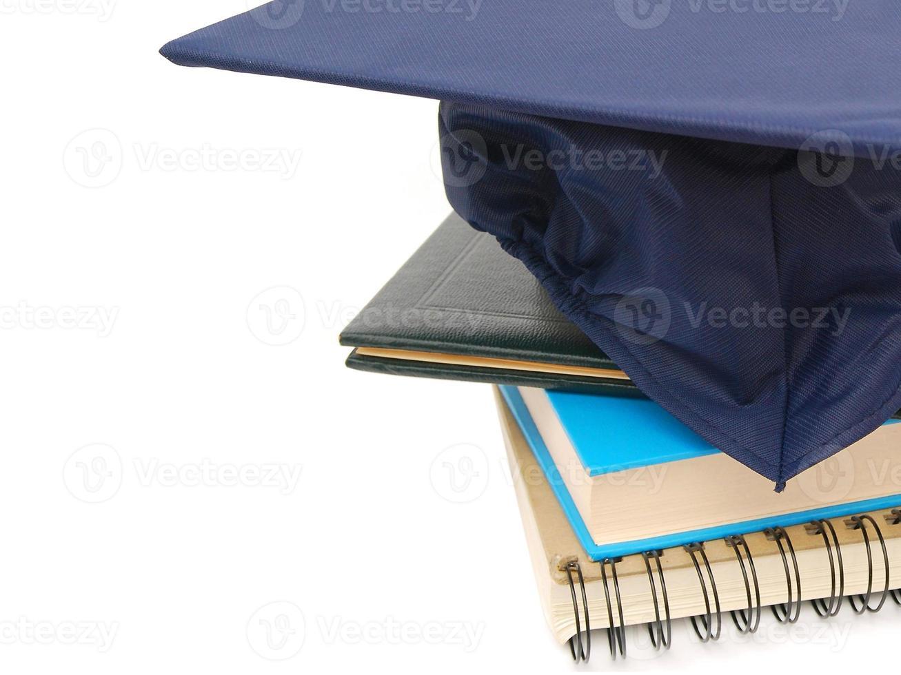completing graduation photo