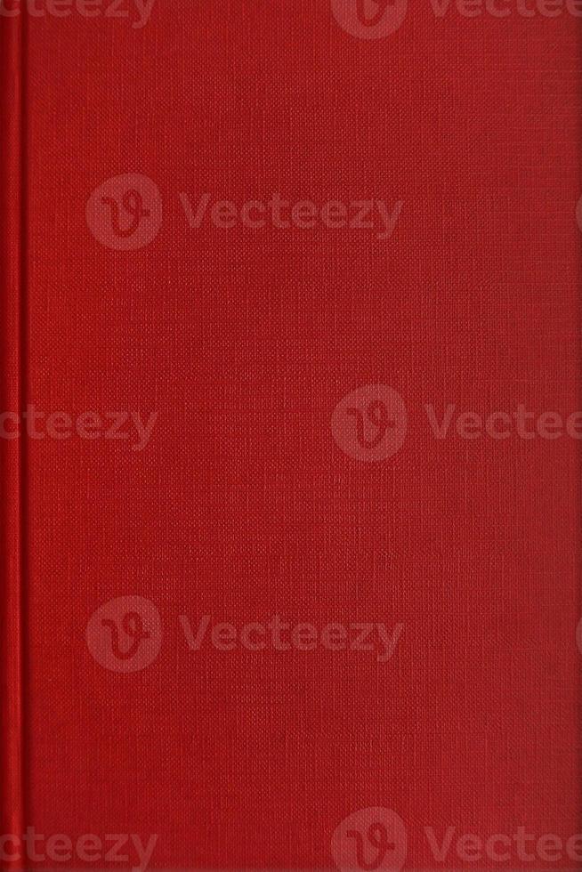 rood boek met blanke pagina foto