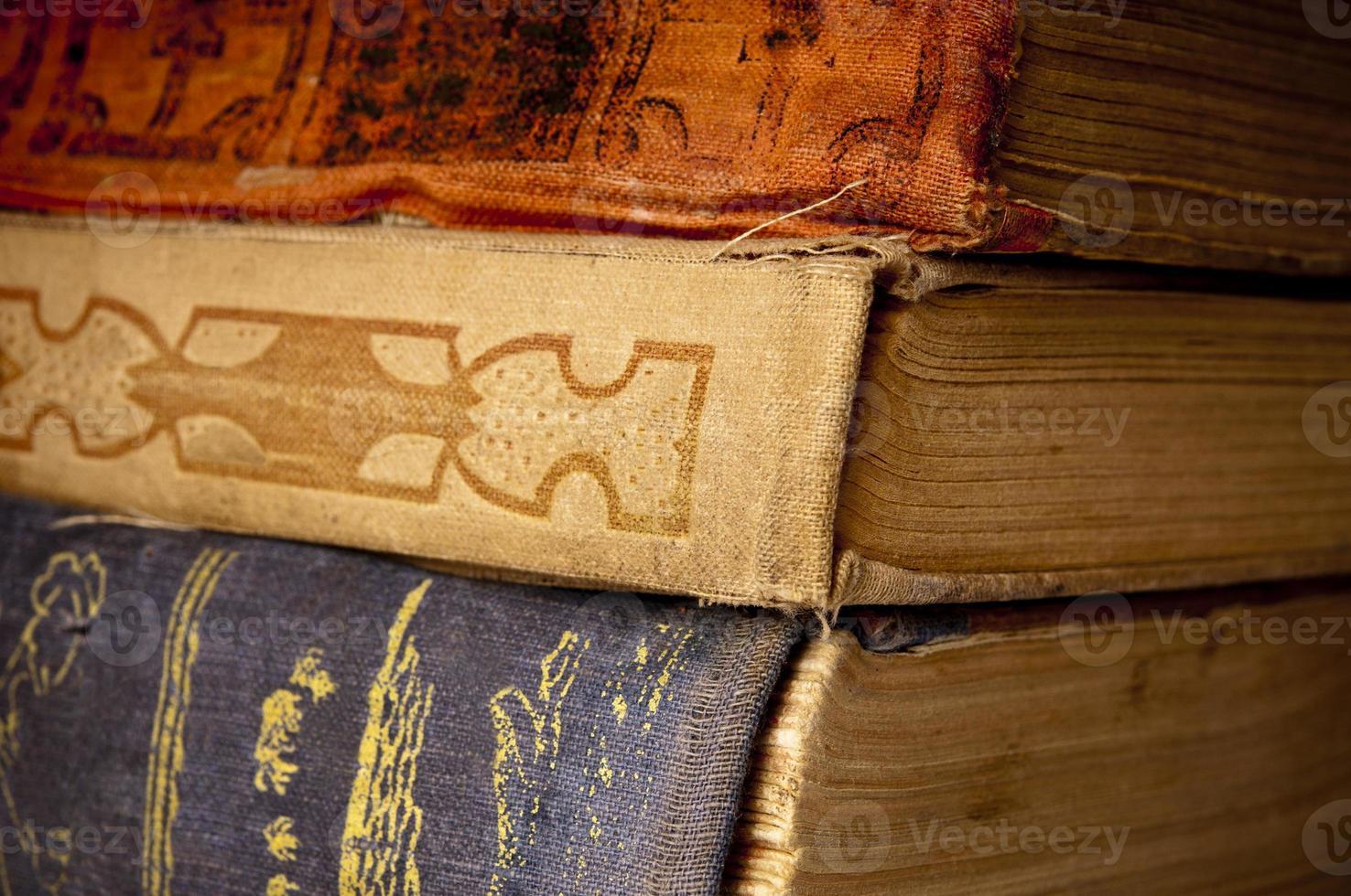 Antique books photo