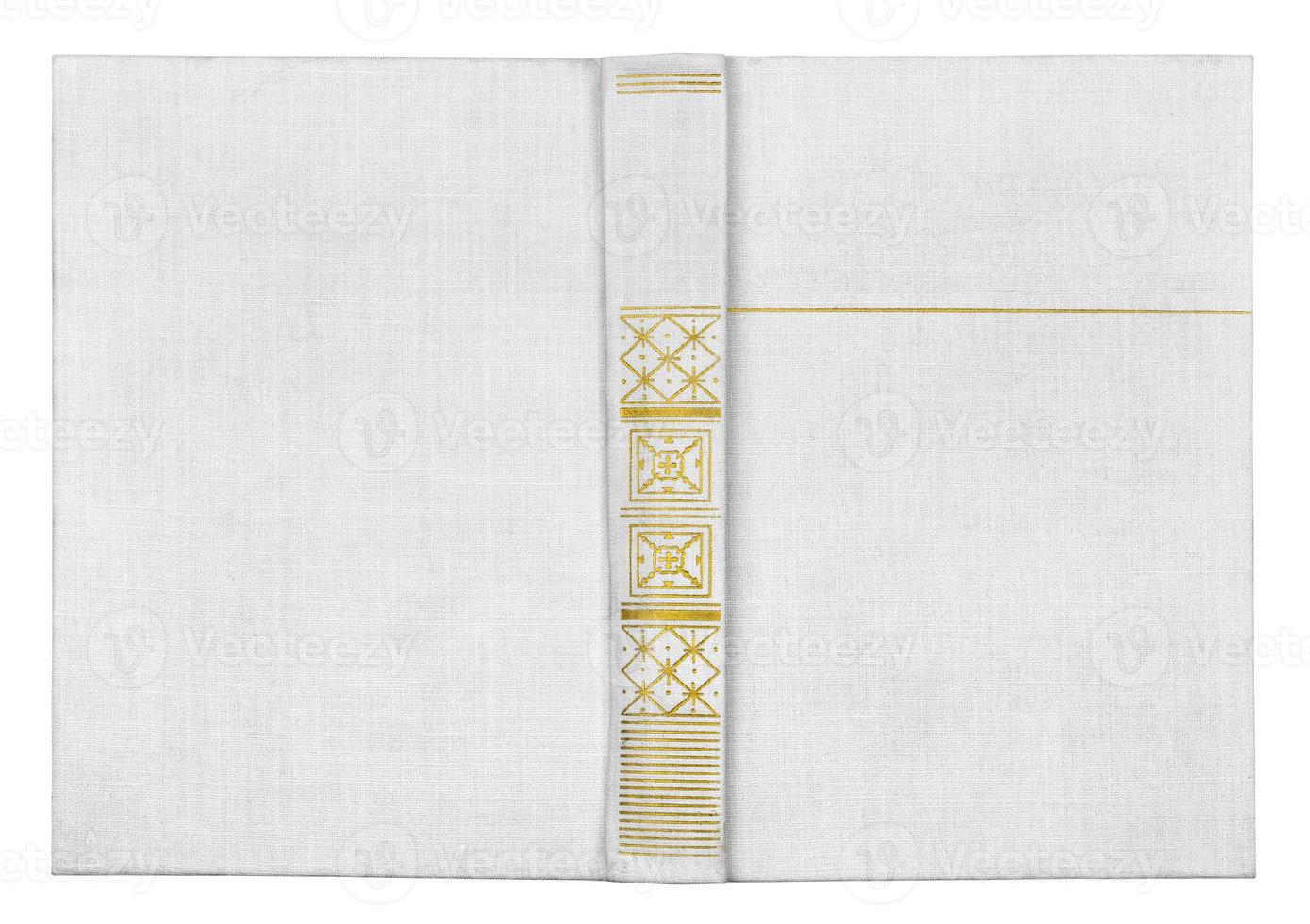 book  isolated on white photo