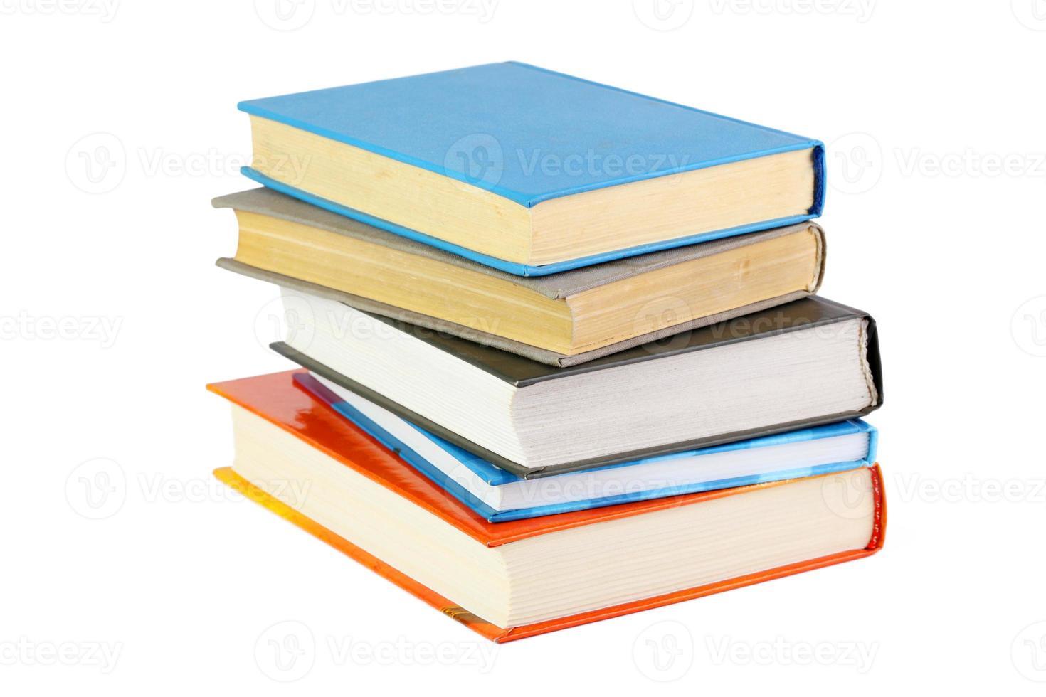 pila de libros foto