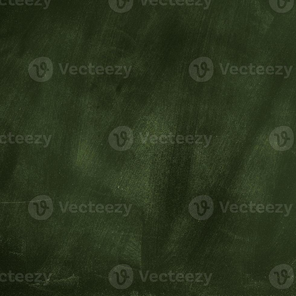 Green Blank Chalkboard Background photo