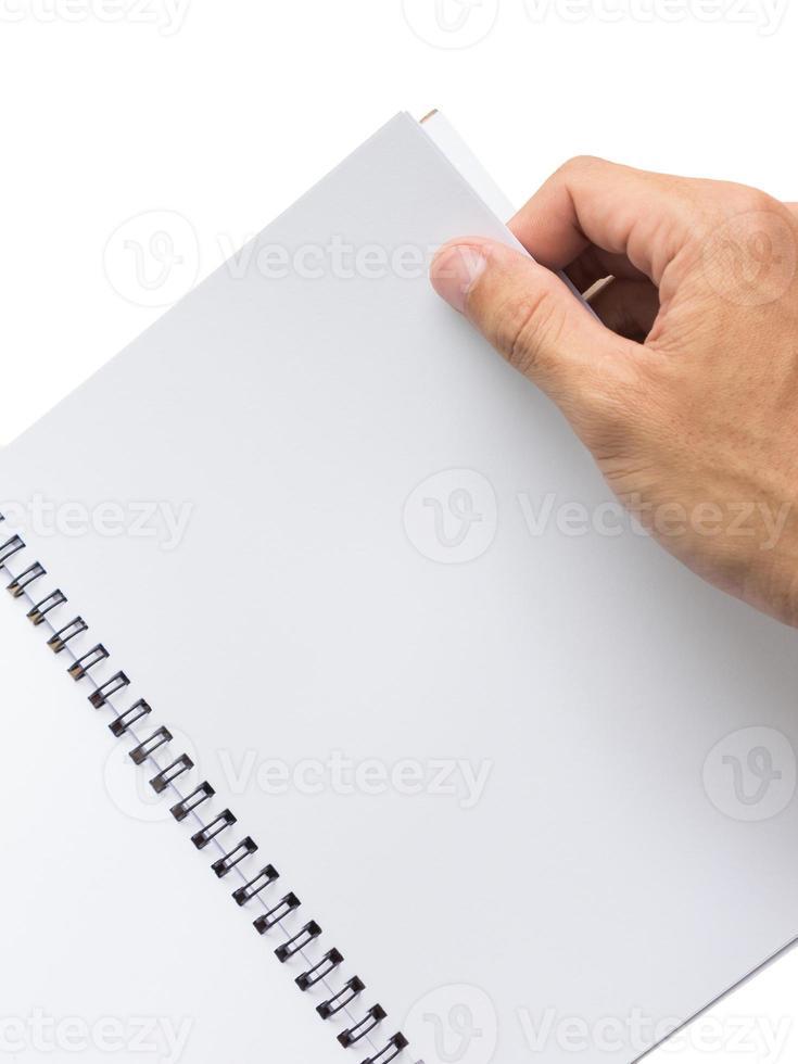 libro de mano foto