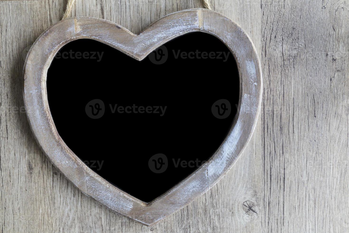 Heart Chalkboard photo