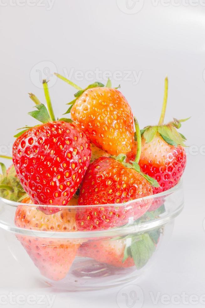 Close up Fresh  Strawberry photo
