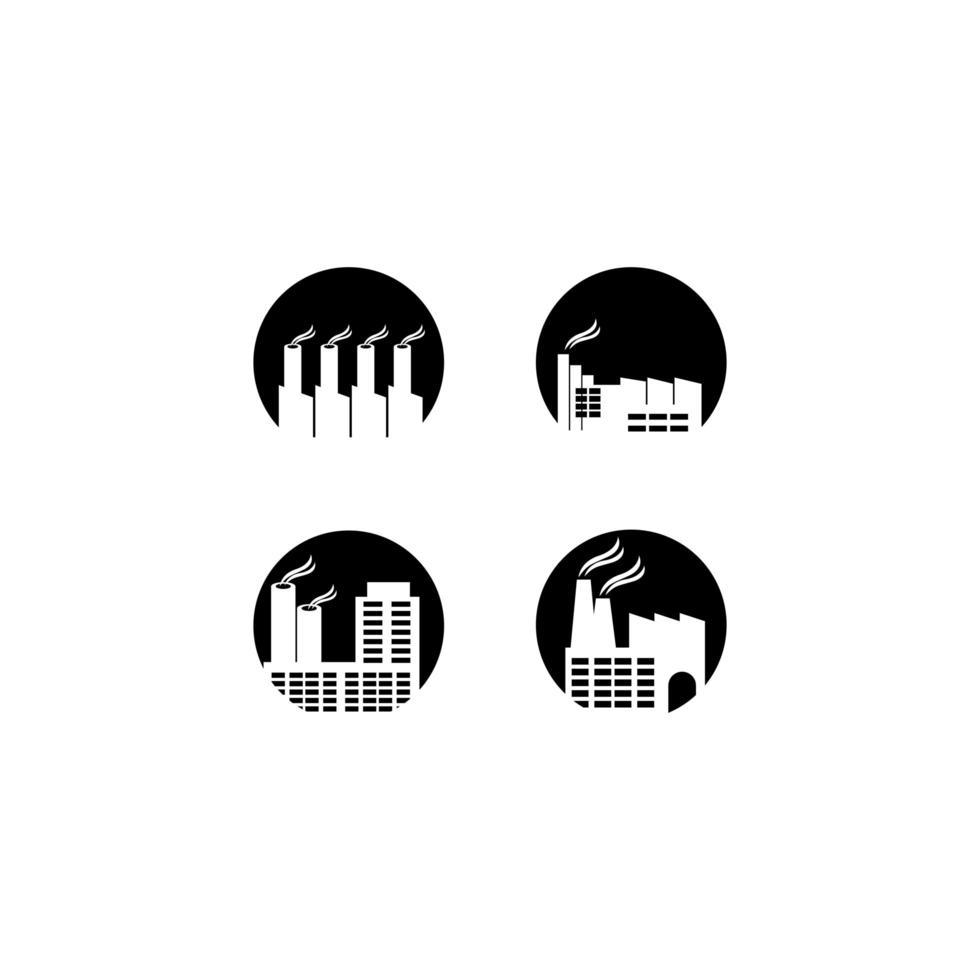 bedrijfstak logo pictogram vector